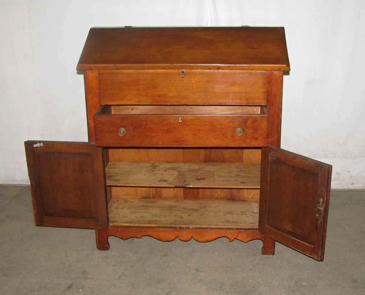 Early American Walnut Plantation Desk Circa 1850 - Early American Walnut Plantation Desk Circa 1850 Olde Good Things