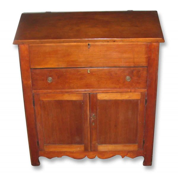 Early American Walnut Plantation Desk Circa 1850 - Office Furniture