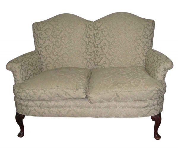 Georgian Upholstered Love Seat - Living Room