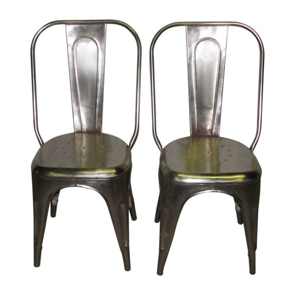 Steel Industrial Chairs - Kitchen & Dining
