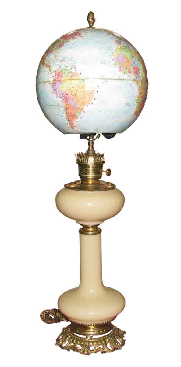Vintage Globemaster School House Light - Table Lamps