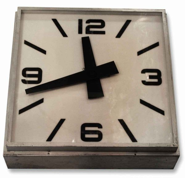 Large Industrial Wall Clock - Clocks