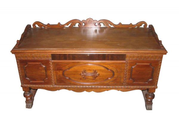 1933 Walnut Blanket Cedar Chest - Chests