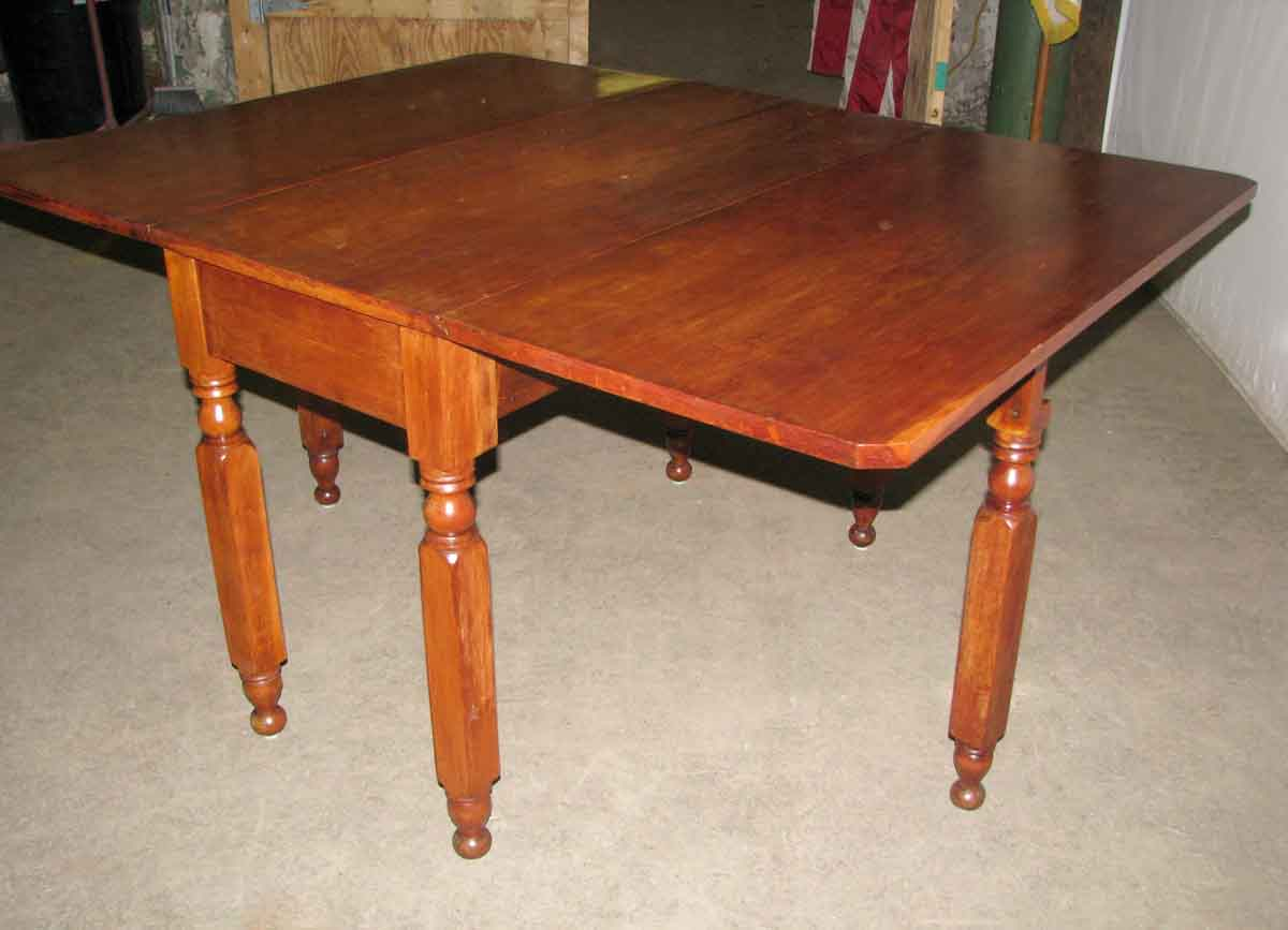 American Style Cherry Drop Leaf Table Olde Good Things : L212868 06 from ogtstore.com size 1200 x 867 jpeg 36kB