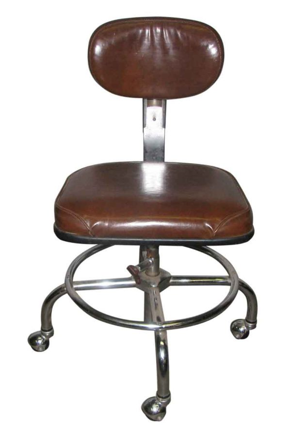 1950s Rolling Office Chair - Office Furniture