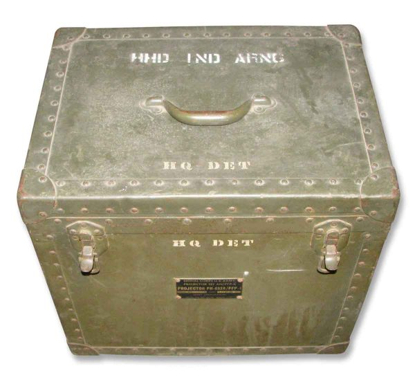 U.S Army Projector Set Box - Industrial