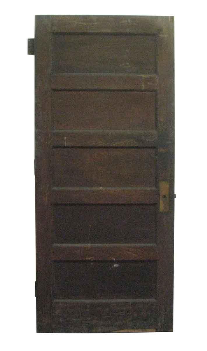 Five Horizontal Panel Door Olde Good Things
