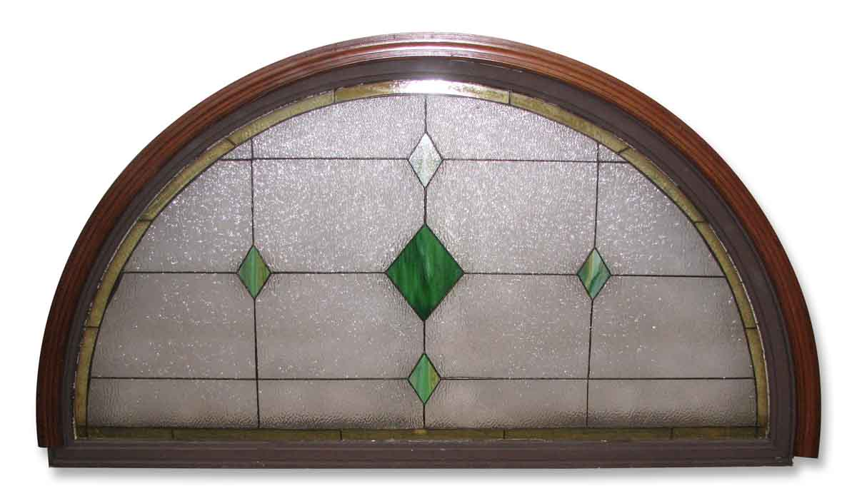 Textured Arched Stain Glass Window Olde Good Things