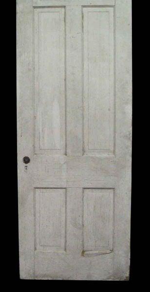 Four Vertical Panel Worn Door - Standard Doors