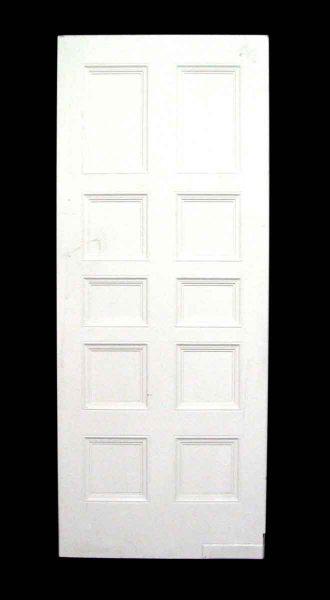 Recessed Panel Swinging Kitchen Door - Standard Doors