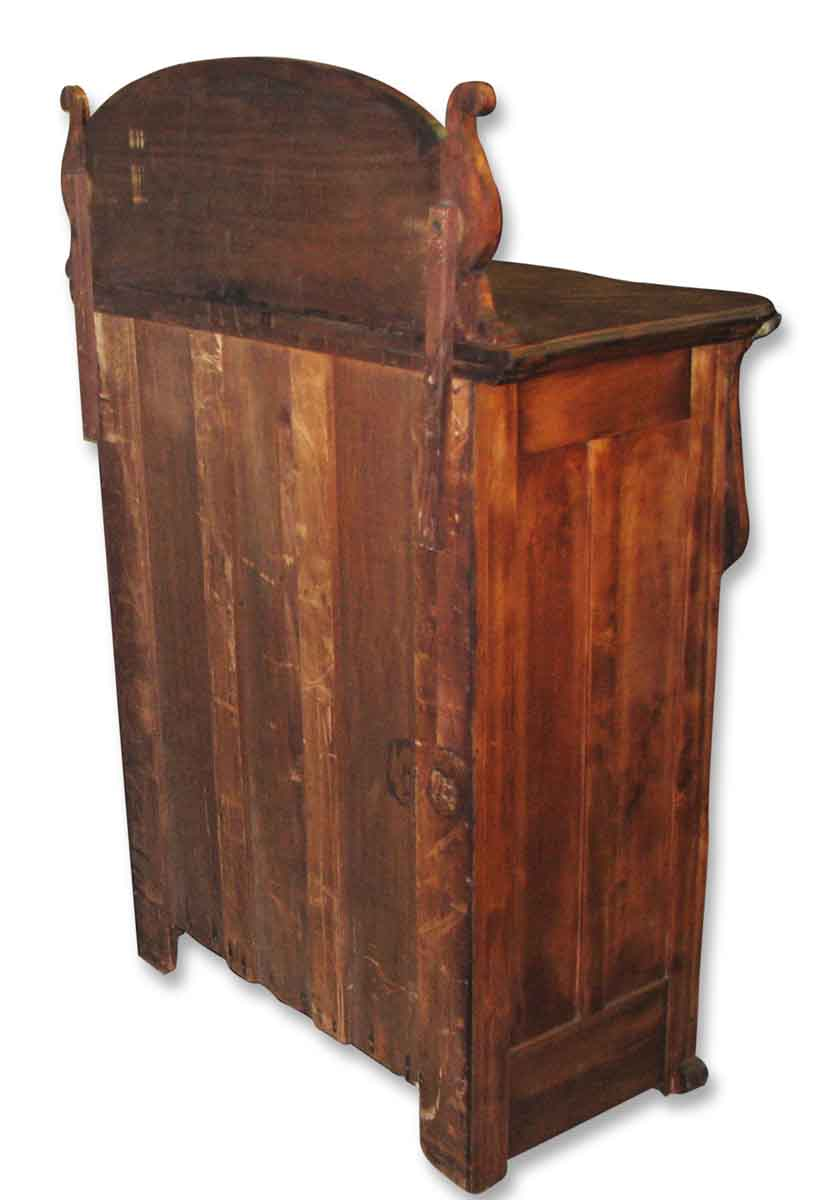 Intricately Carved Flamed Maple Dresser Olde Good Things