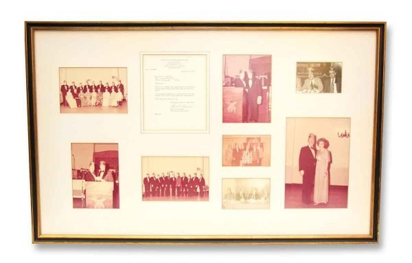 Vintage 1970s Shrine Club Photo Collage - Photographs