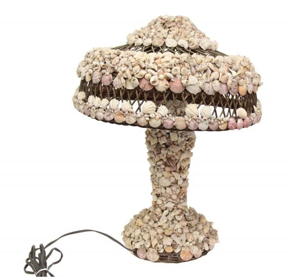 Vintage Shell Table Lamp - Table Lamps