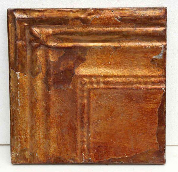 Metallic Copper Colored Tin Panel - Tin Panels