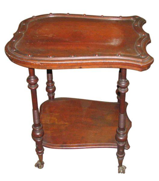 Claw Feet Shield Side Table - Living Room