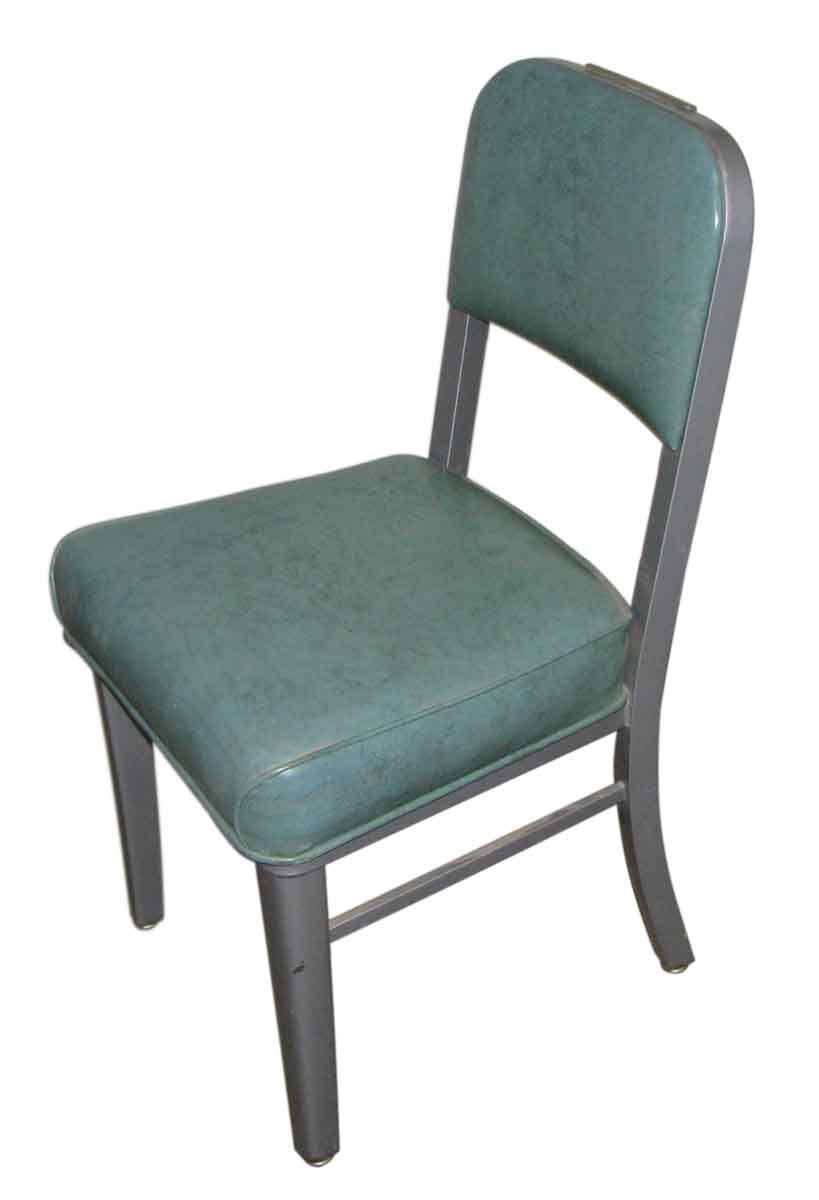 Vintage Steelcase Green Chair