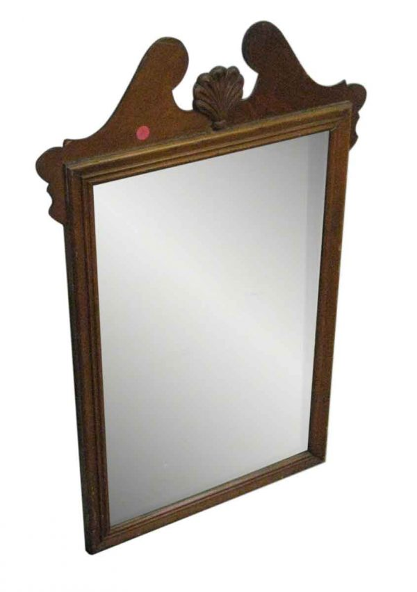 Colonial Style Wood Mirror - Antique Mirrors