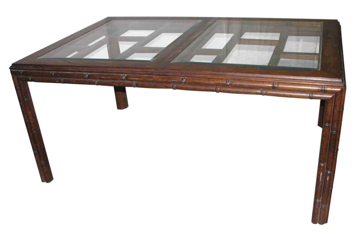 Extendible Asian Style Dining Table Olde Good Things