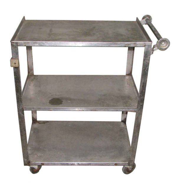 Stainless Steel Industrial Serving Cart - Carts