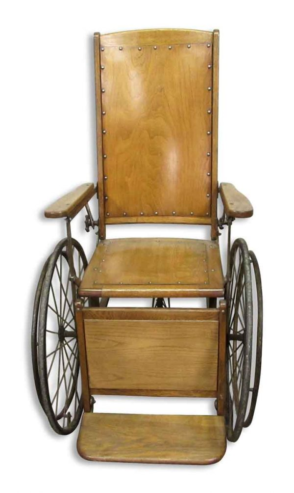 Antique Wooden Wheelchair - Commercial Furniture