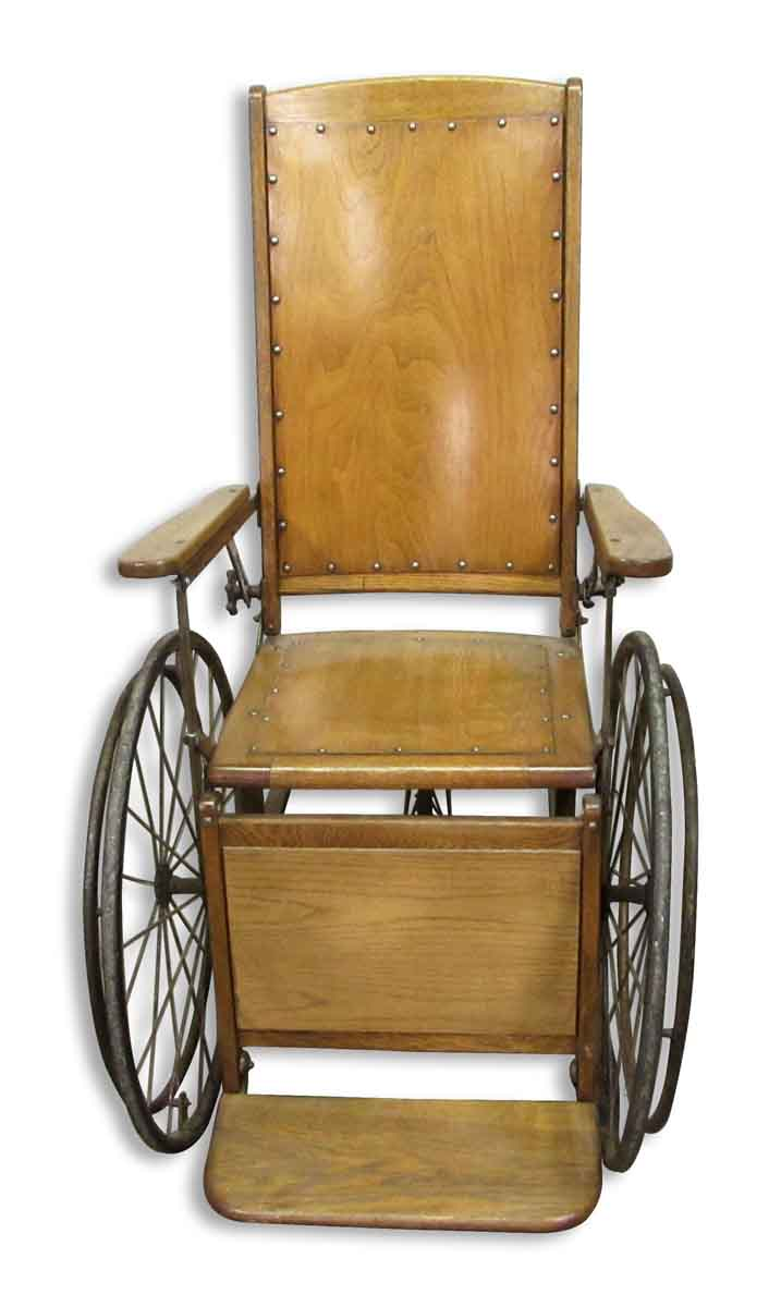 Antique Wooden Wheelchair Olde Good Things