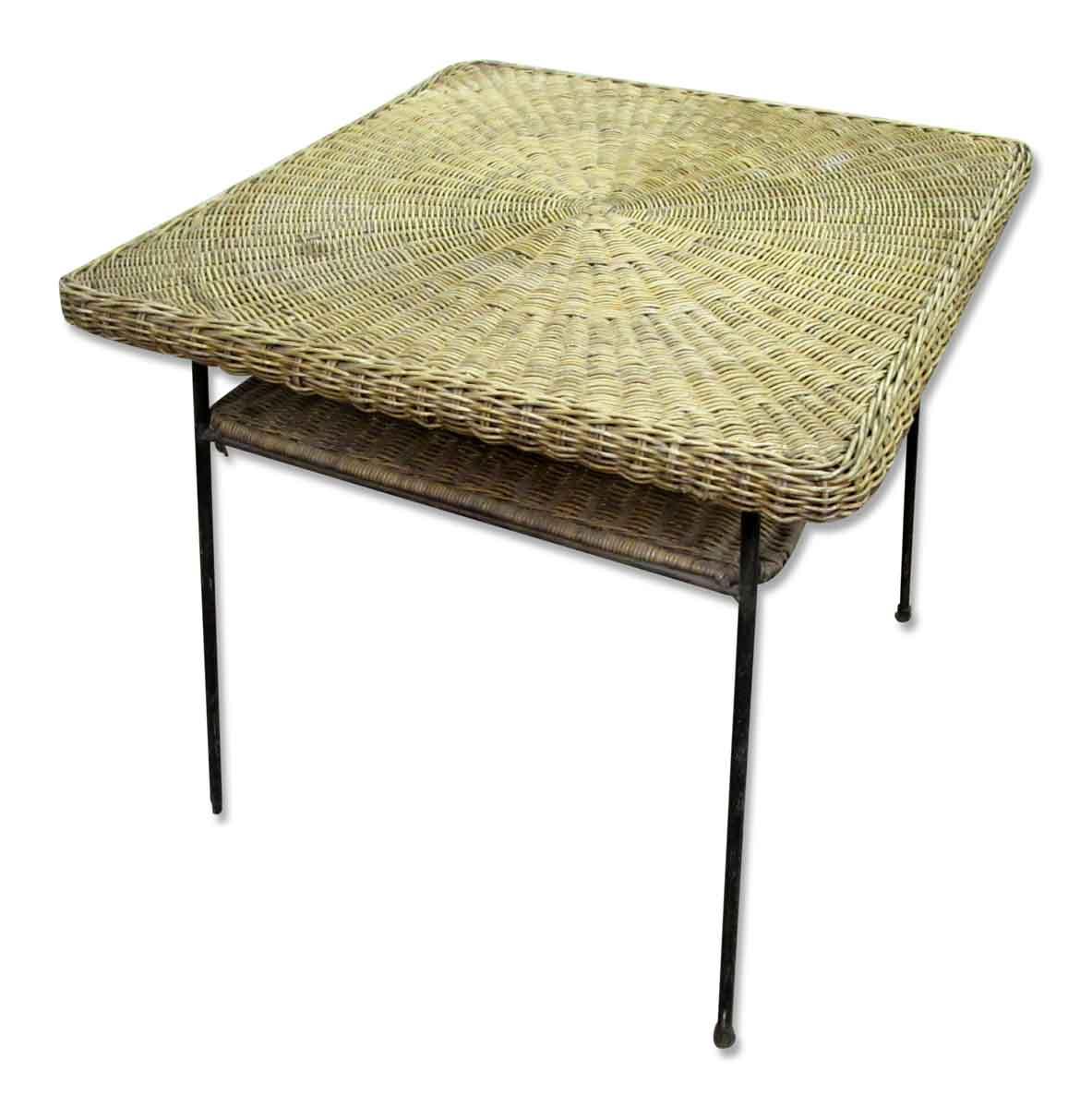 Antique Wicker Desk