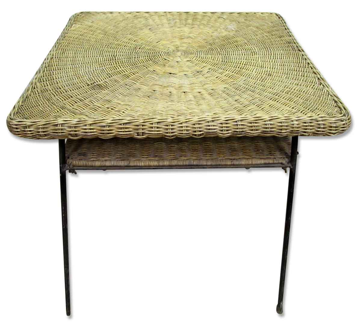 Antique Wicker Desk - Antique Wicker Desk Olde Good Things