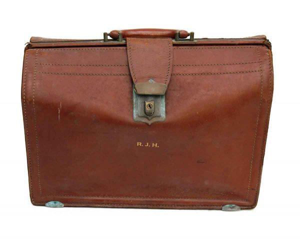 Small Vintage Brief Case - Suitcases