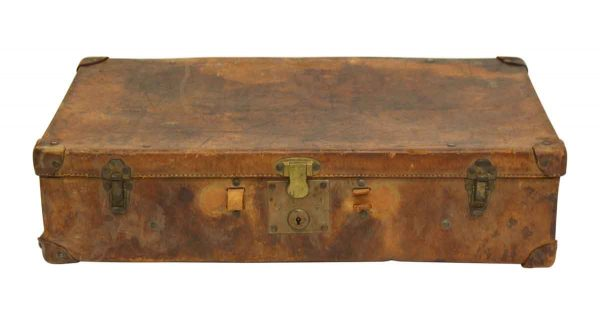 Very Worn Antique Trunk - Trunks