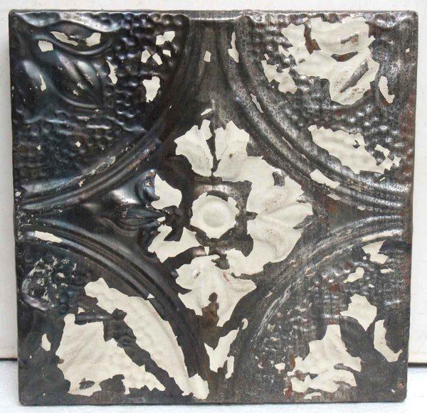 Silver Flower Tin Panel - Tin Panels