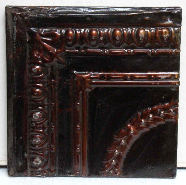 Brown Corner Tin Panel - Tin Panels