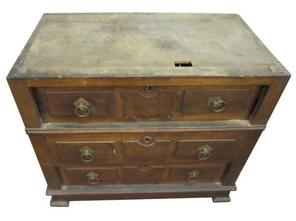 Three Drawer Antique Dresser - Bedroom