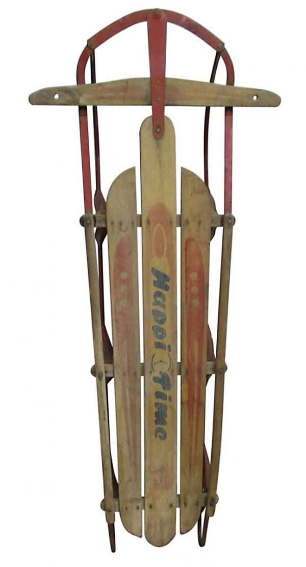Vintage Happy Time Sled - Children's Items