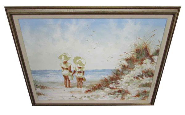 Women on the Beach Painting - Paintings