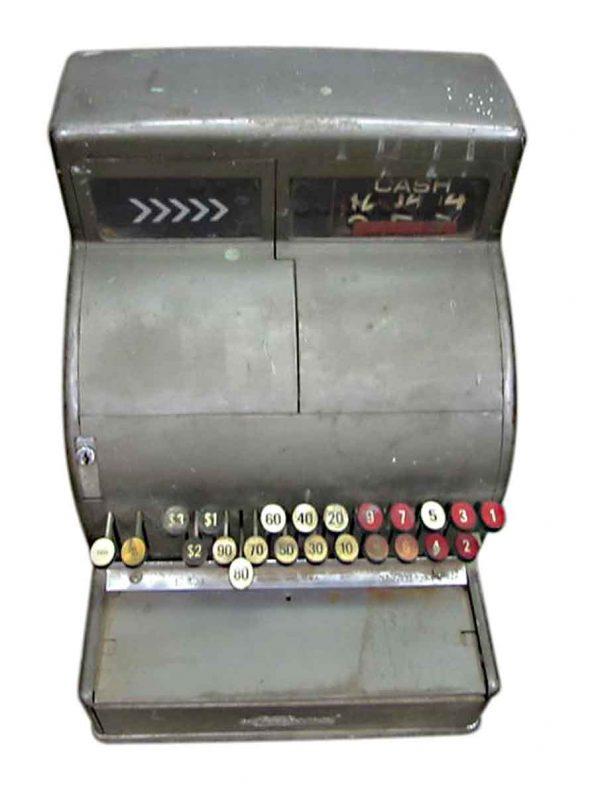 Antique Silver National Cash Register - Cash Registers
