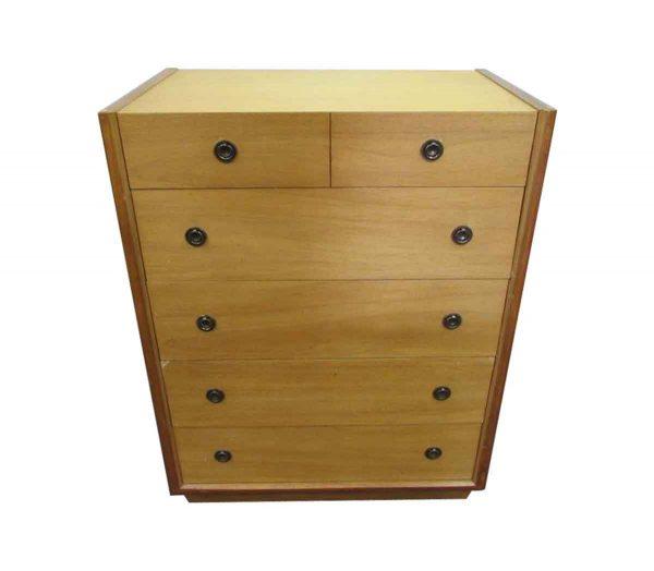Vintage Blonde Wood Dresser with Natural Finish - Bedroom