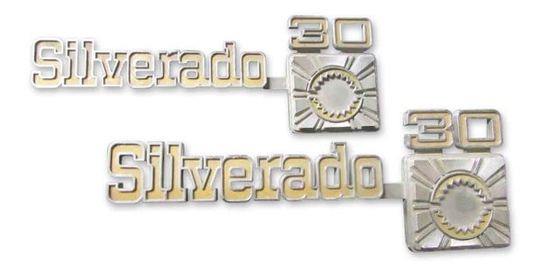 Metal Silverado Sign - Car Fronts & Parts
