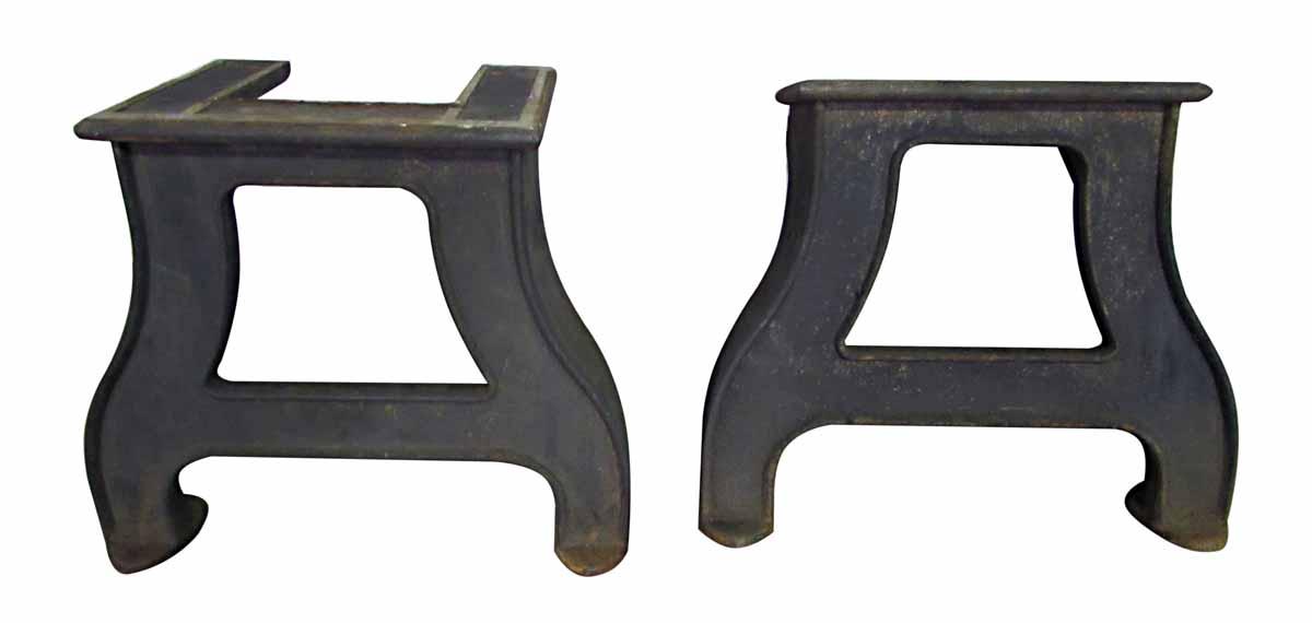 industrial furniture legs. Original Cast Iron Industrial Table Legs Furniture