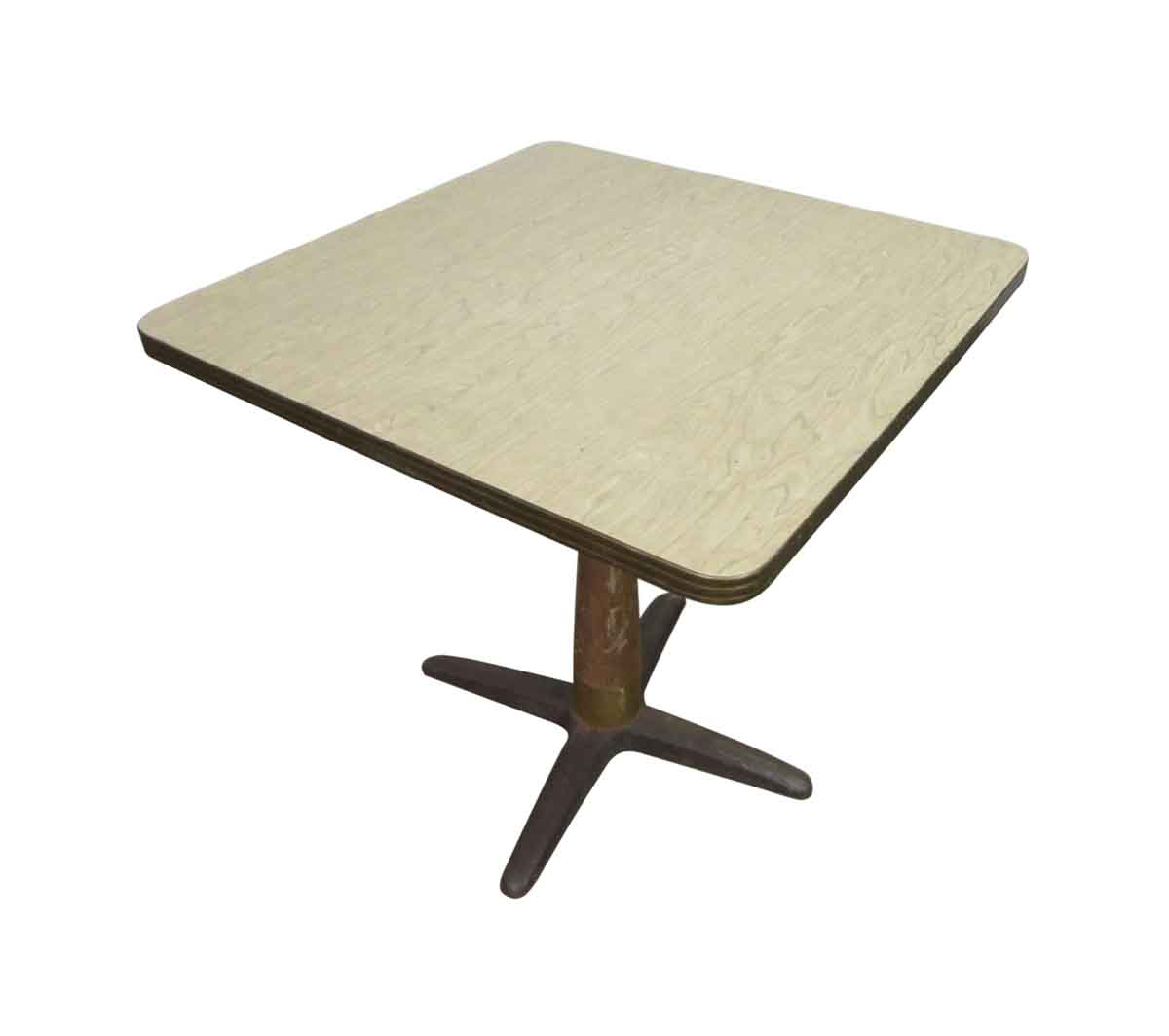 1940s Cafe Table With Original Formica Top