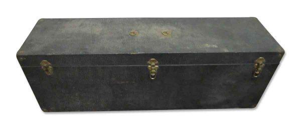 Vintage Narrow Black Trunk - Trunks