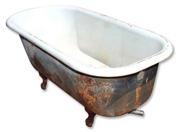 Bath Tub with Claw Feet - Bathroom
