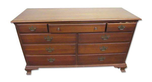 Low Solid Wood Dresser - Bedroom