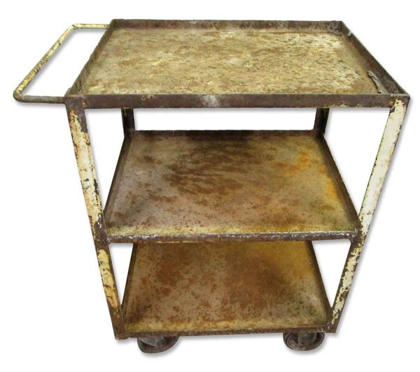 Rusted Metal Cart - Industrial