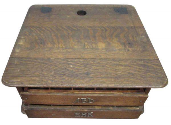 Tiger Oak Cash Register - Commercial Furniture