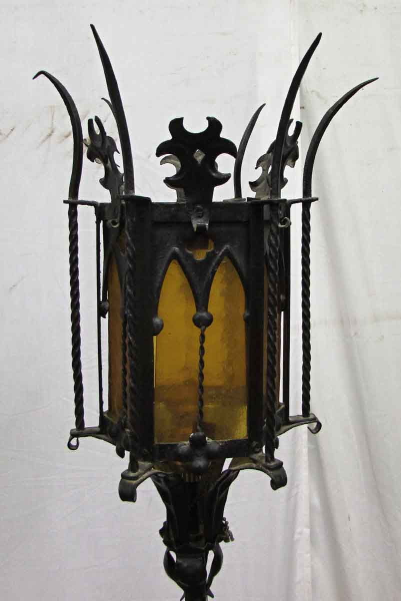 Medieval Style Wrought Iron Floor Lamp Olde Good Things