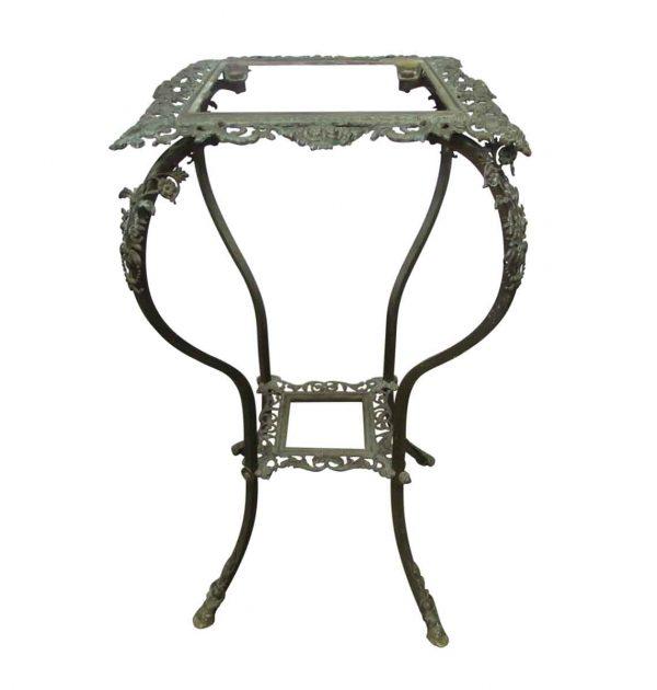 Bronze Plant Stand or Pedestal Table - Garden Elements