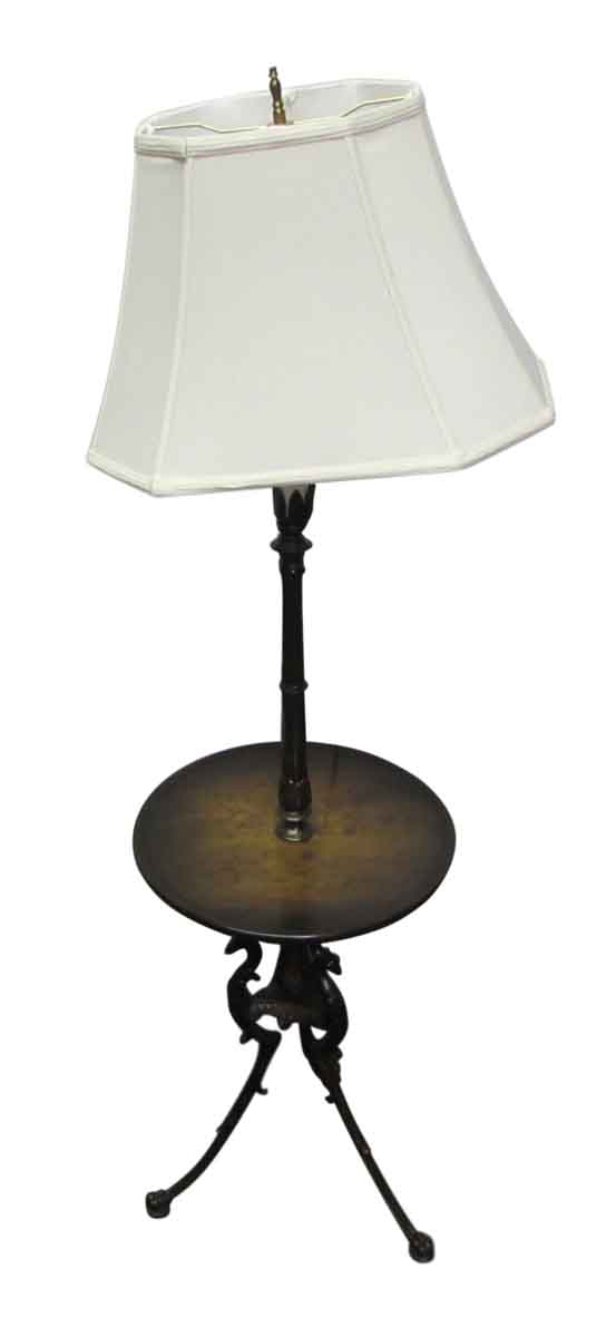 Wooden Table Floor Lamp - Lamp & Tables
