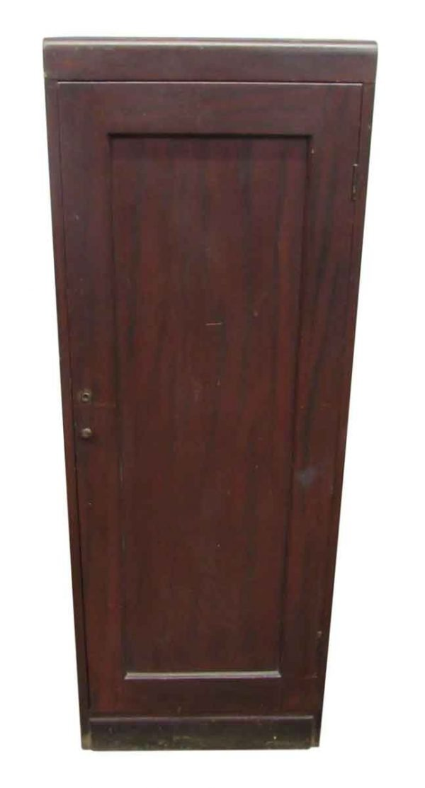 Antique Wooden Mahogany Cabinet - Cabinets