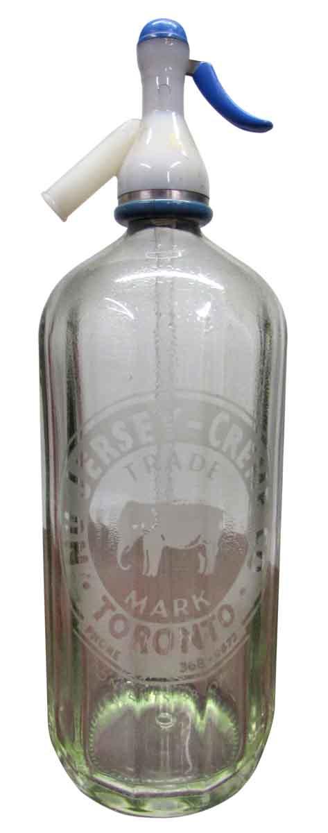 Vintage Glass Seltzer Bottles - Bottles & Jars