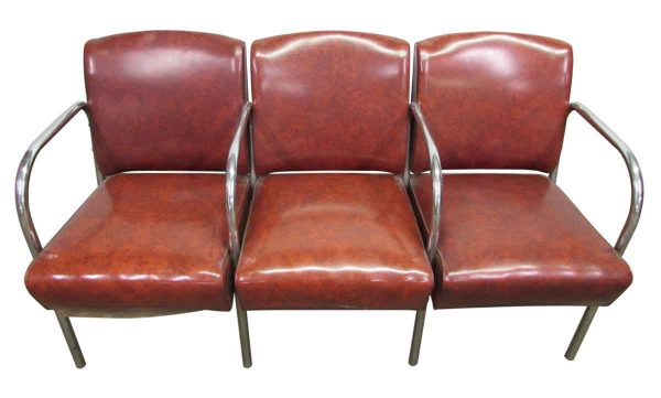 Attached Barber Shop Chairs - Commercial Furniture
